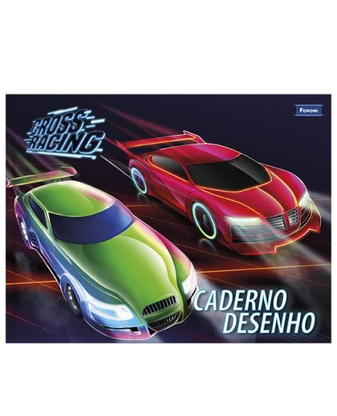 Caderno Cross Racing 40 Fls - FORONI