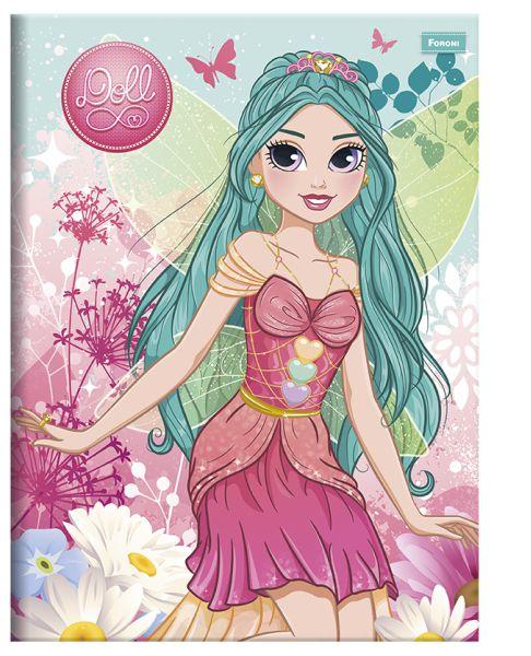 Caderno Brochurão Doll 96F - FORONI