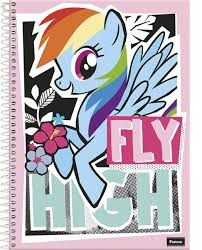 Caderno Espiral My Little Pony 1M - Foroni