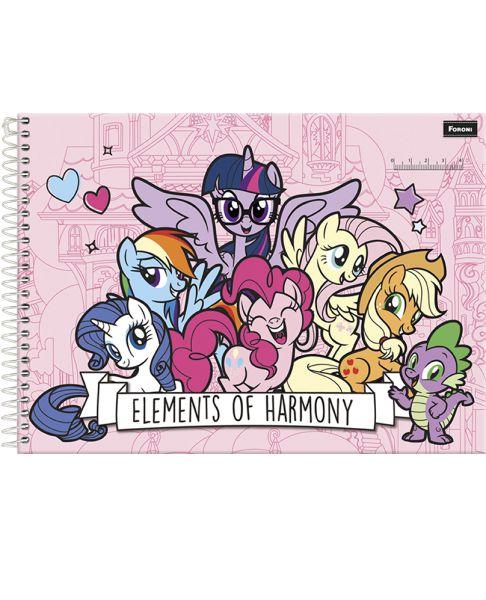 Caderno Cartográfico My Pony 96 F - FORONI