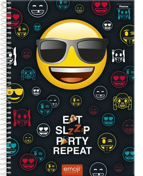 Caderno Emoji 1M - FORONI