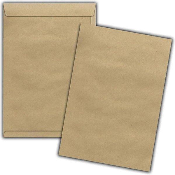 Envelope Saco M Kraft Natural 22X32cm - Foroni