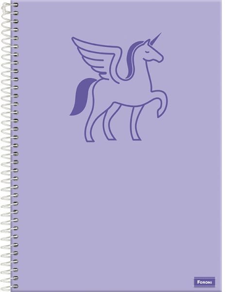 Caderno Versatile 1/4 C/D 96 Fls - FORONI