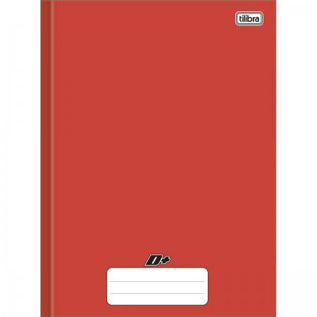 Caderno Brochura Universitario D+ Vermelho 48F - Tilibra