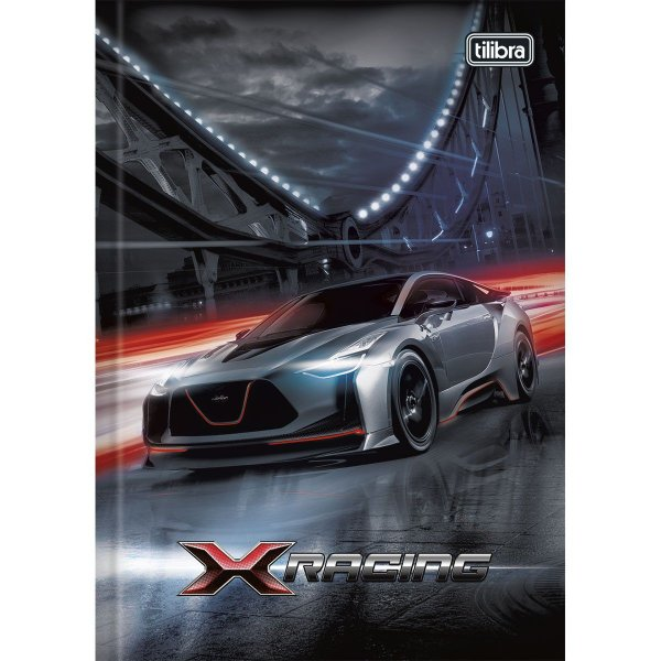 Caderno Brochura X-Racing  96f - TILIBRA