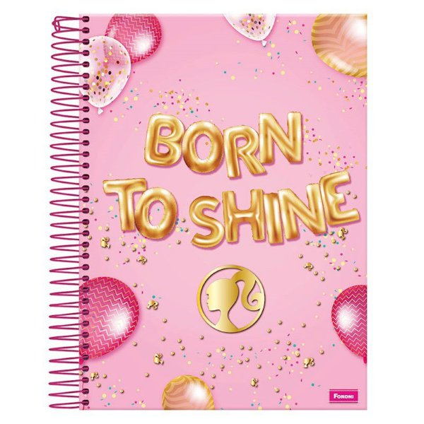 Caderno Barbie Fashion 10M - FORONI