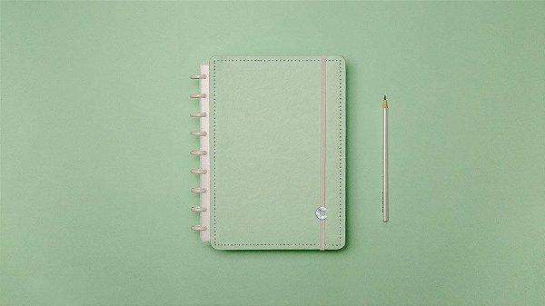 Caderno Verde Pastel - Medio - Caderno inteligente