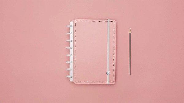Caderno Rose Pastel - A5 - Caderno inteligente