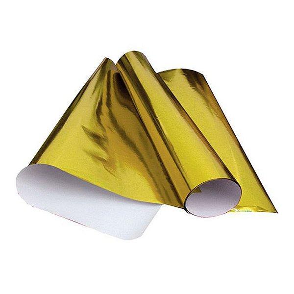Papel Laminado 48x60 Amarelo