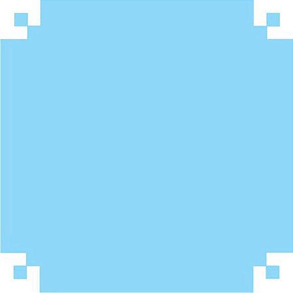 Papel Camurca 40x60 Azul Claro