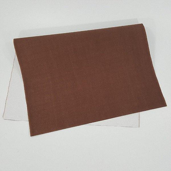 Papel Camurca 40x60 Marrom