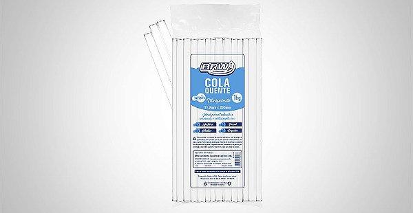 Bastão de Cola Quente Transparente Grosso-Brw