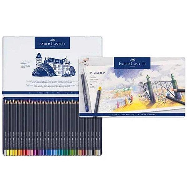 Lápis de Cor Goldfaber estojo com 36 cores - Faber-Castell