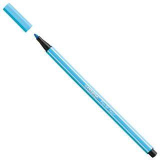 Caneta Pen 68/57 Azul Claro Neon - Stabilo