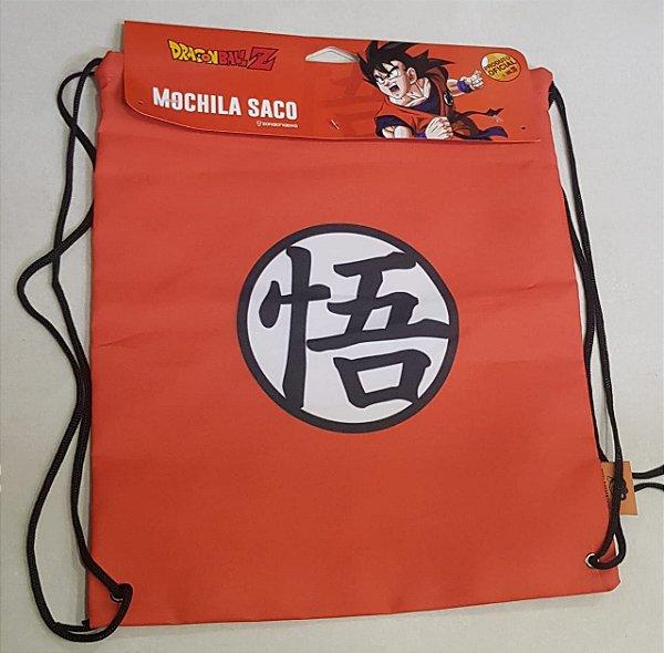 Mochila Saco Dragon Ball Z Símbolo - Zona Criativa