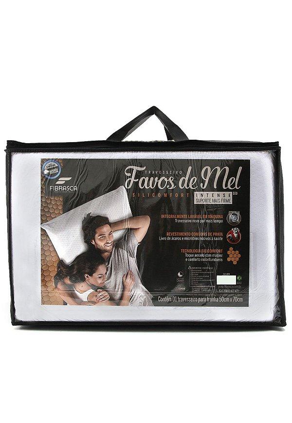 Travesseiro Fibrasca Silicomfort Favos de Mel INTENSE