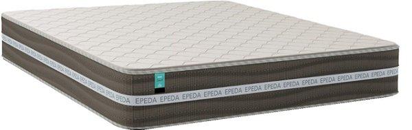 Colchão solteiro 88X188X27 Epeda Essencial de molas ensacadas