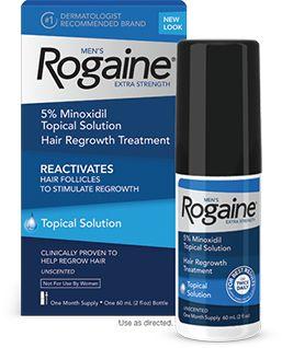 Rogaine Extra Strength 5% Minoxidil/ Liquido / 1 Mês / POUCAS UNIDADES / PRONTA ENTREGA