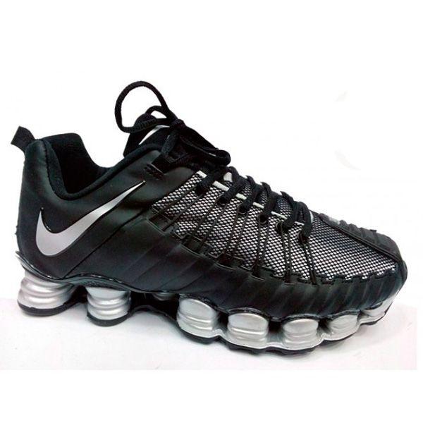 Nike Total Shox Preto e prata