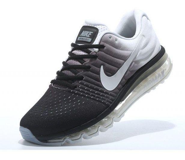 Tenis Nike Air Max 2017 Preto e Branco