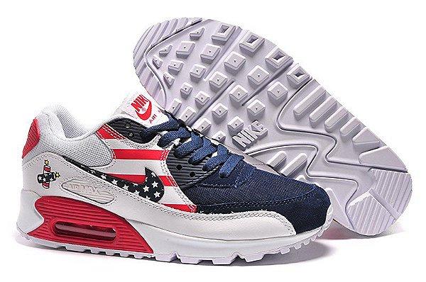 low priced 40bdb 90bc5 Nike Air Max 90 Branco EUA