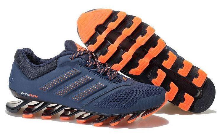 on sale 2313a 314dc Adidas Springblade Drive Preto Laranja
