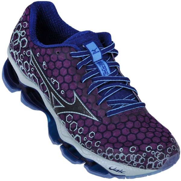 Mizuno Wave Prophecy 3 Unissex Roxo