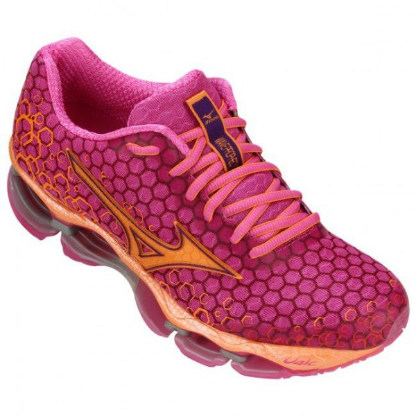 Mizuno Wave Prophecy 3 Unissex Rosa