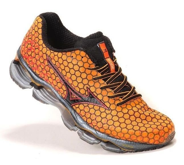 669460df4e Mizuno Wave Prophecy 3 Laranja