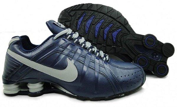 Nike Shox Junior azul escuro