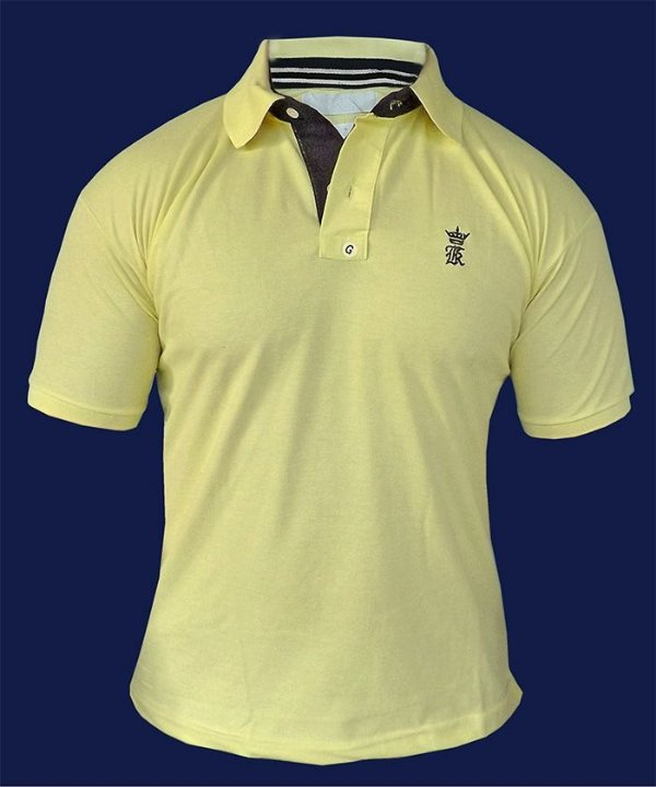 Camisa Polo Sergio K Amarela