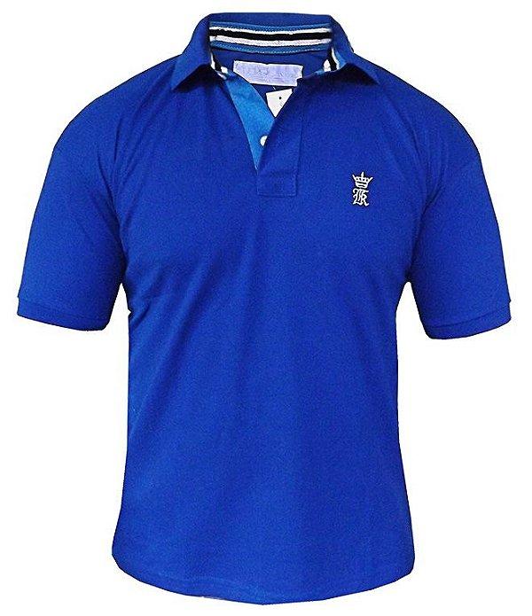 Camisa Polo Sergio K Azul royal