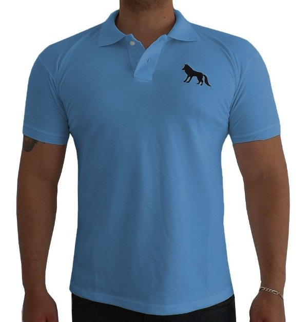 Camisa Polo Acostamento azul