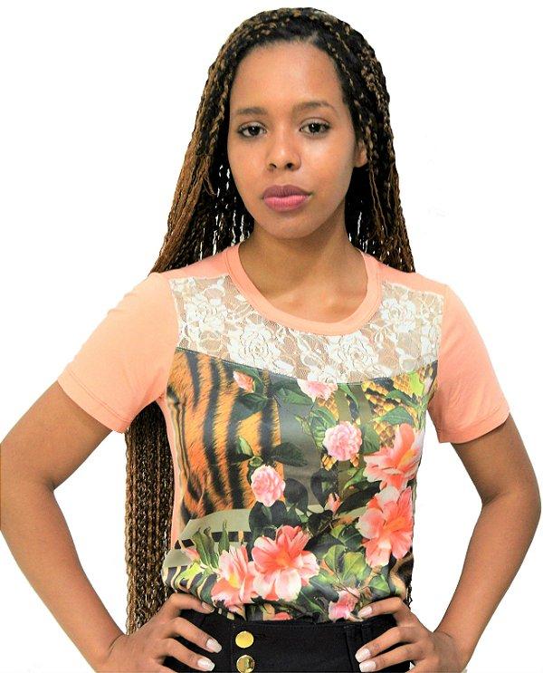 1ce04b0633 Blusa em Malha Titok Moda Feminina