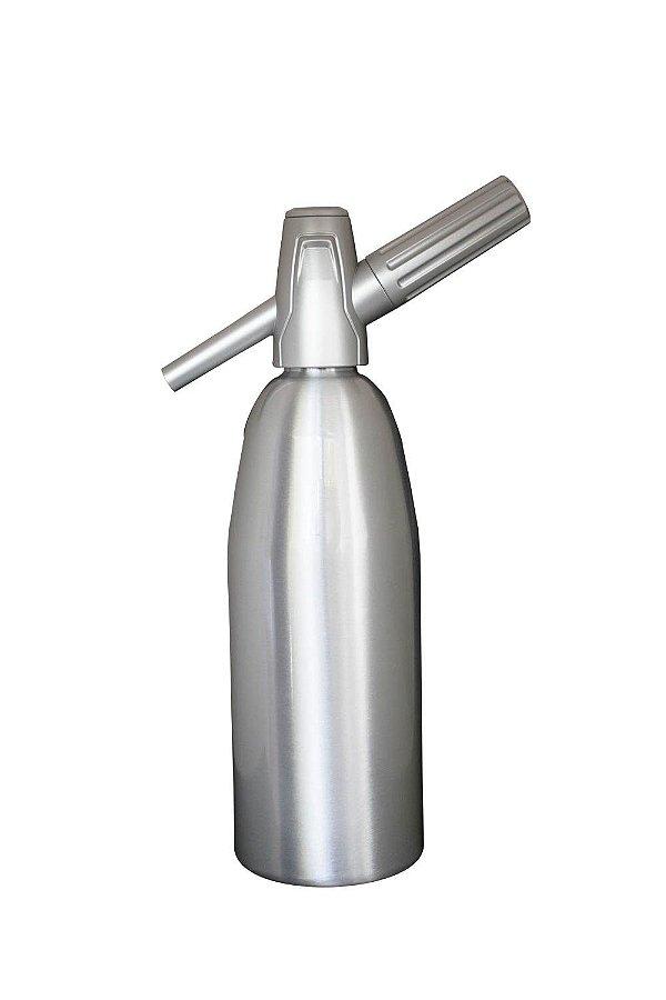 Garrafa Soda Aluminio 1l Prata Best Whip