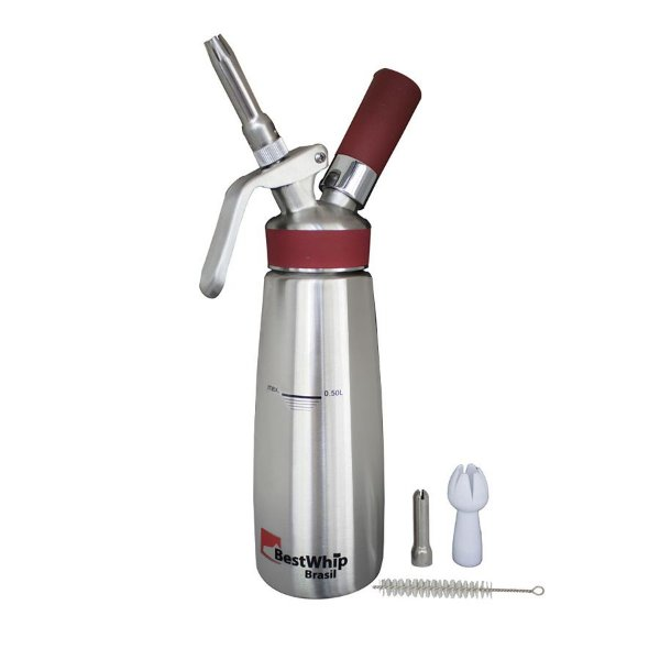Garrafa para Chantilly 500ml Gourmet Pro Inox Best Whip