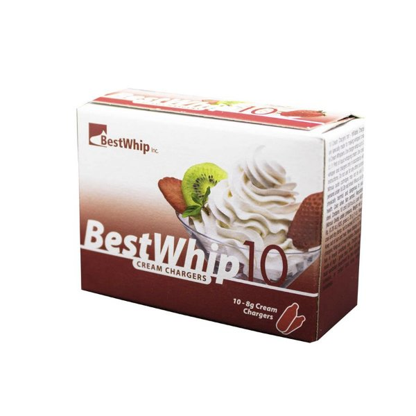 Combo 5 Caixas de Gás Para Chantilly N2O Best Whip
