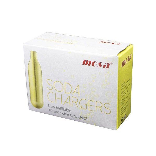 Combo 5 Caixas de Gás SODA CO2 Best Whip