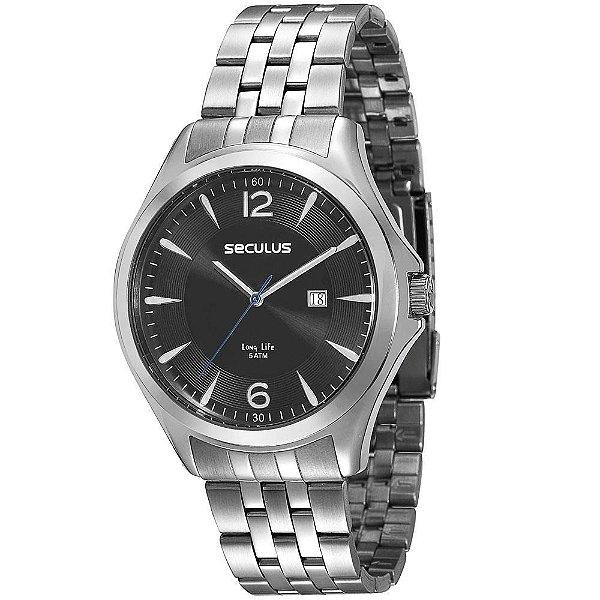 f68c9fe40ec Relógio Masculino Analógico Seculus 23487G0SVNA1 - Relojoaria e ...