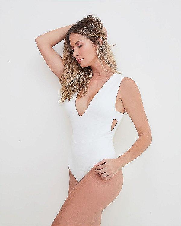 Maiô/Body Tulum Off White