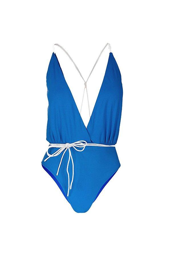 Maiô/Body Kerala Azul Anil