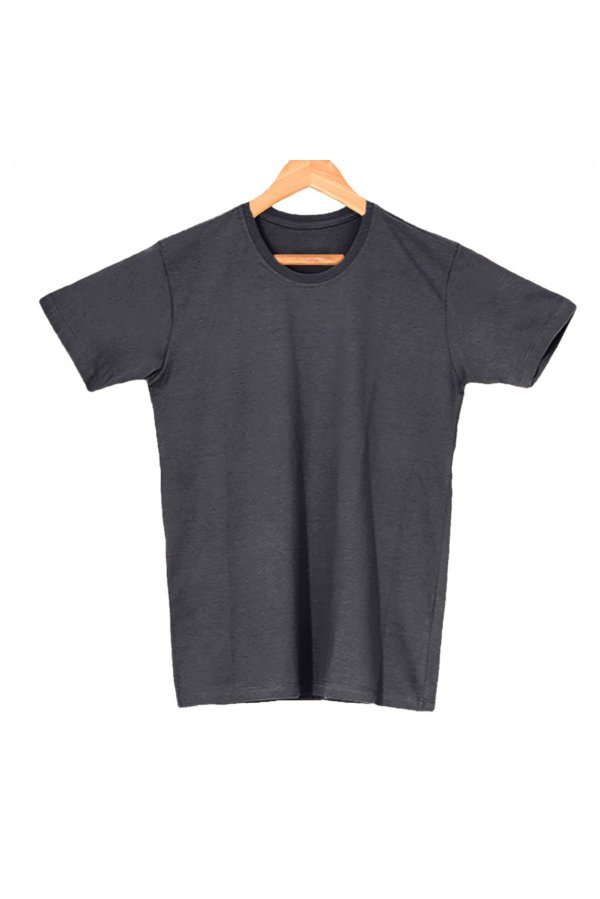 T-Shirt Algodão Orgânico Cinza Grafite