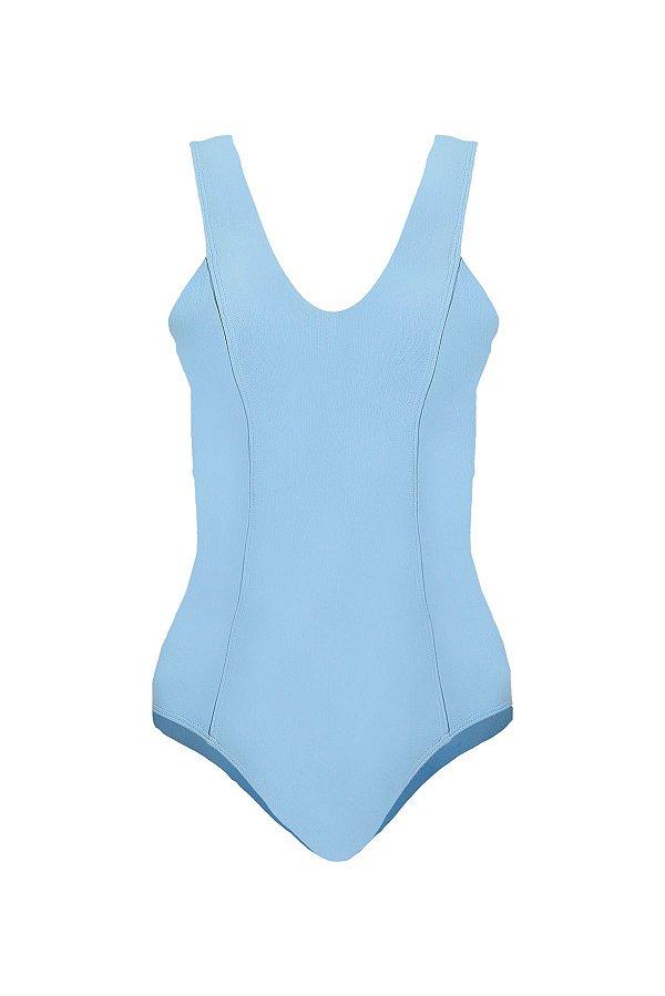 Maiô/Body Algarve Azul