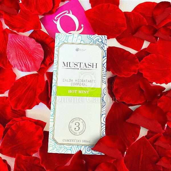 MUSTASH - Calda Beijavel  Para Sexo Oral Sabor: Menta | 100 ml KALYA
