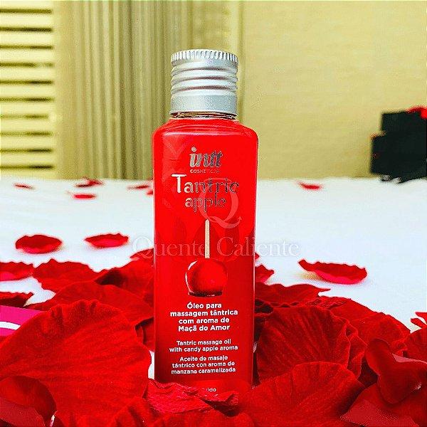 TRÂNTRA - Óleo para Massagem  Tântrica  Aroma: Maçã do Amor