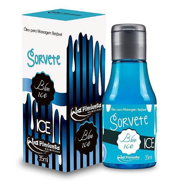 SORVETE - Calda para Sexo Oral - Sabor: Blue Ice