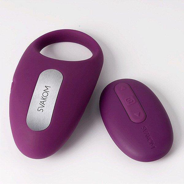 SVAKOM WINNI - Anel Peniano com Vibrador Recarregável, 25 Modos de Vibração e Controle Remoto | Medida Interna: 1,2 cm