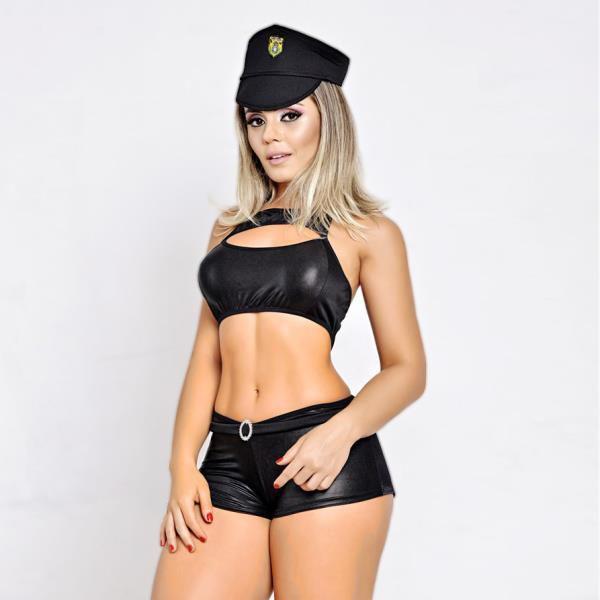 FANTASIA - Policial Cirrê F343 | Tamanho: U