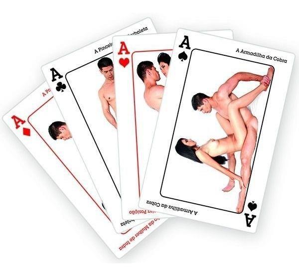 KAMA SUTRA - Baralho com 52 Posições Sexuais