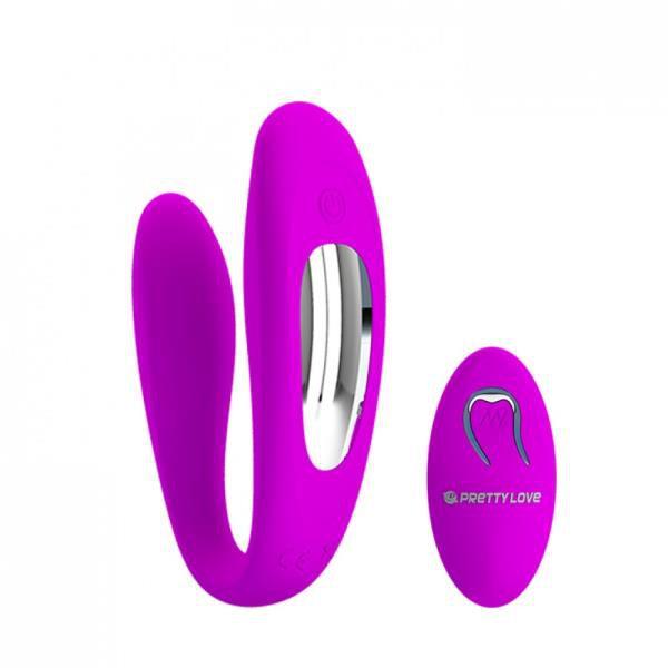 LETITIA - Vibrador para Casal com Controle Remoto e 10 Programas de Vibração